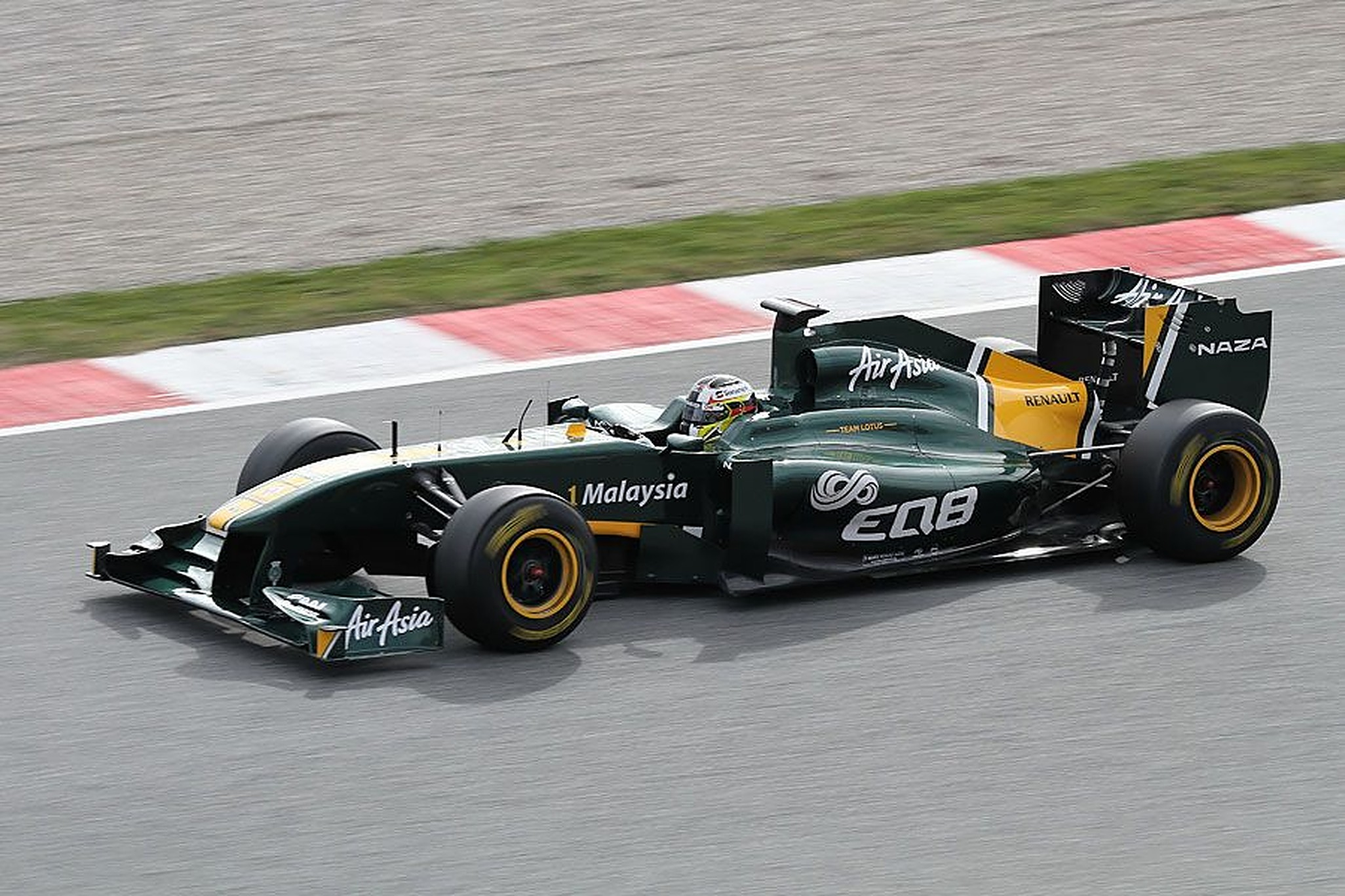 Ricardo Teixeira Barcelona Testing 2011