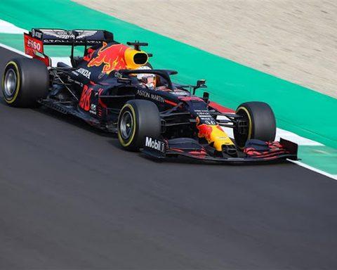 2020 Red Bull Max Verstappen - Formual1News.co.uk