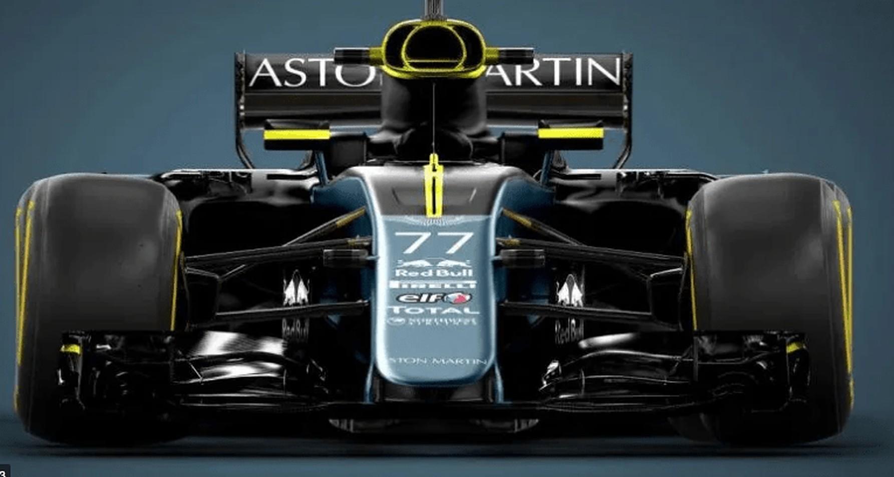 Aston Martin F1 Car Concept Sebastian Vettel - article by Suliman Mulhem