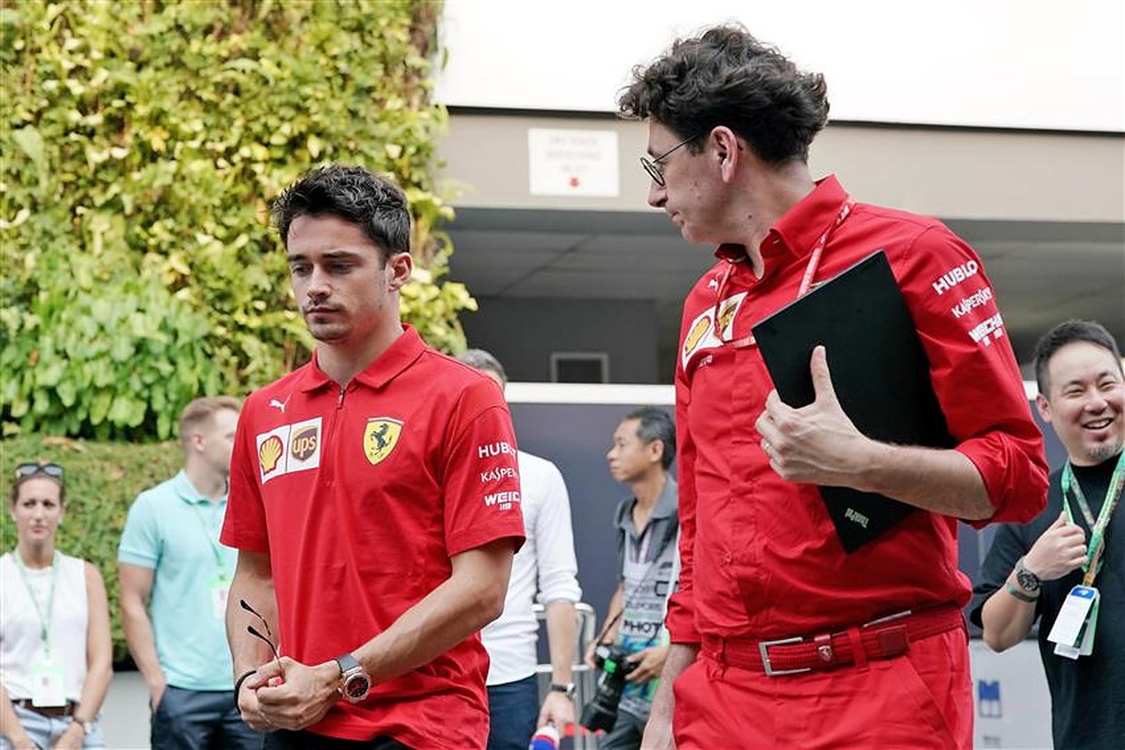 Charles Leclerc and Mattia Binotto could leave Ferrari - Formula1News.co.uk