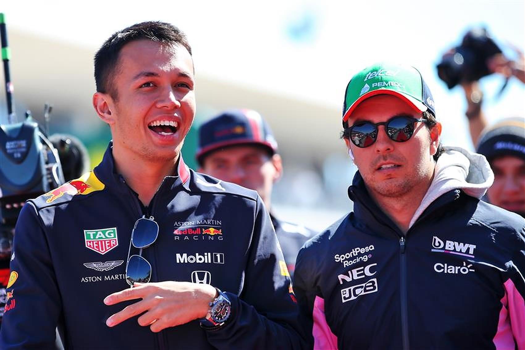 Formula1News.co.uk - Alex Albon and Sergio Perez Red Bull