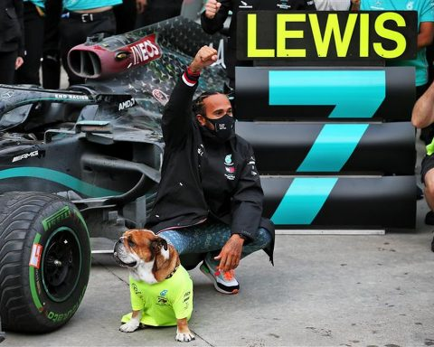 Lewis Hamilton after winning his 7th F1 title - Formula1news.co.uk