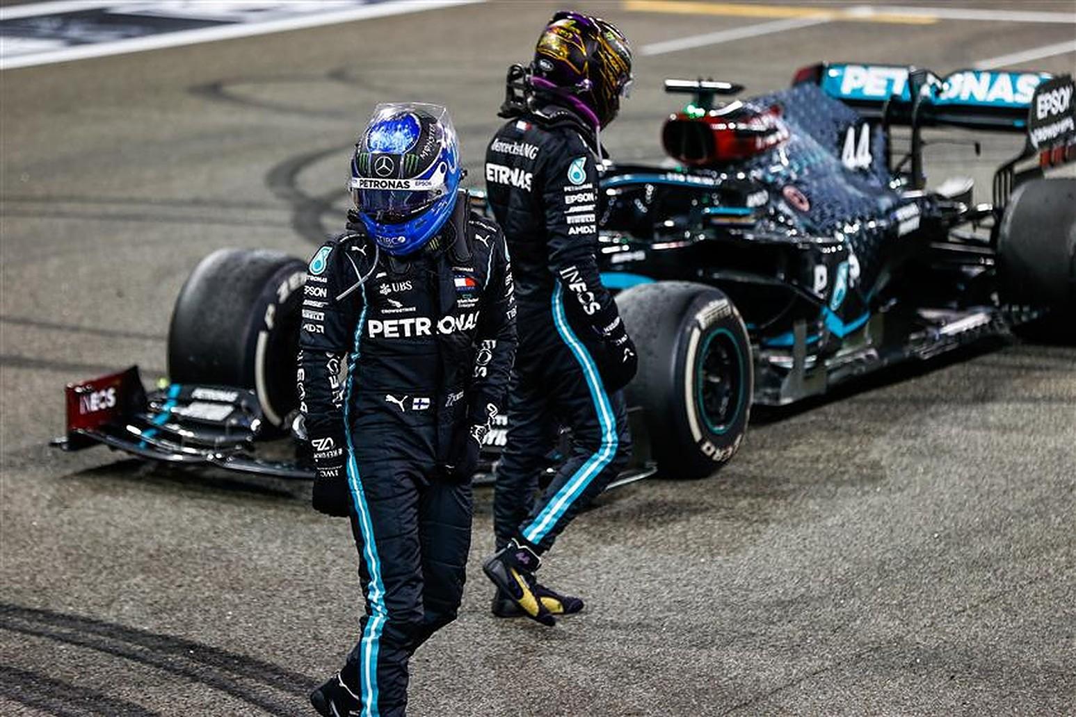 Lewis Hamilton and Valtteri Bottas at Mercedes 2021 - Formula1News.co.uk