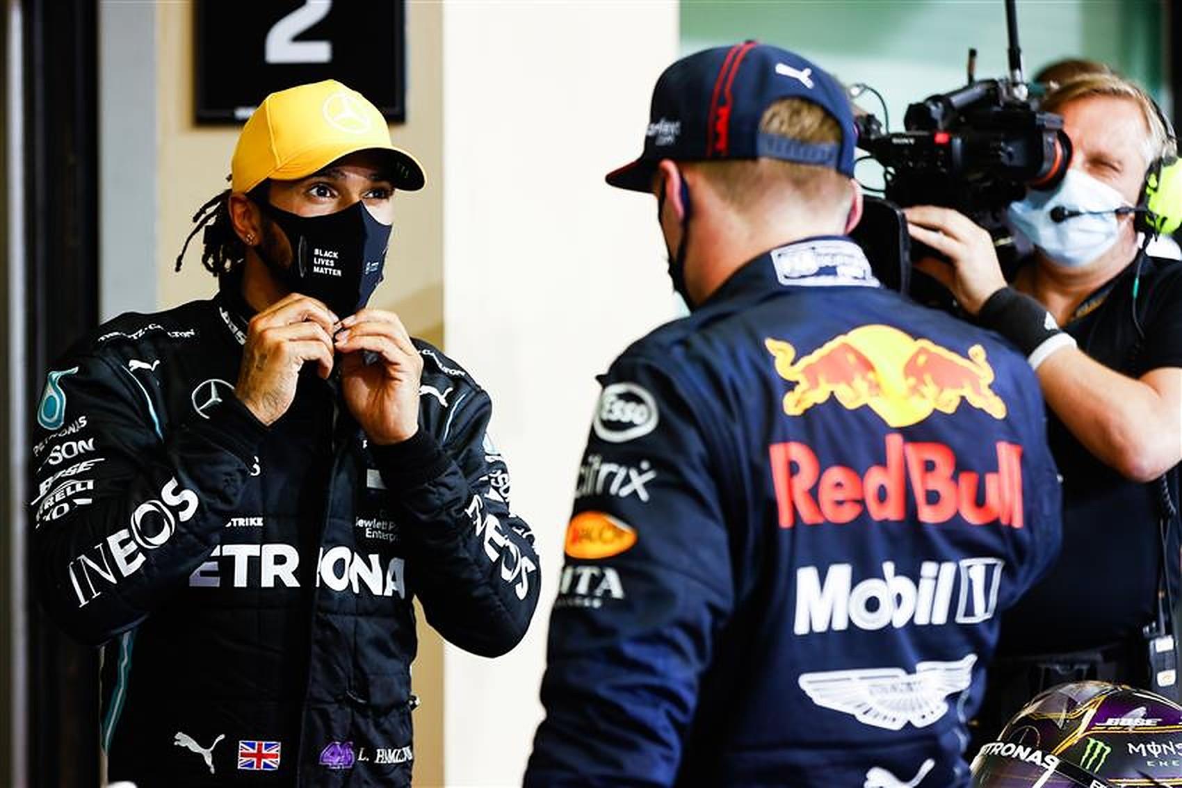 Max Verstappen and Lewis Hamilton 2020 - Formula1News.co.uk