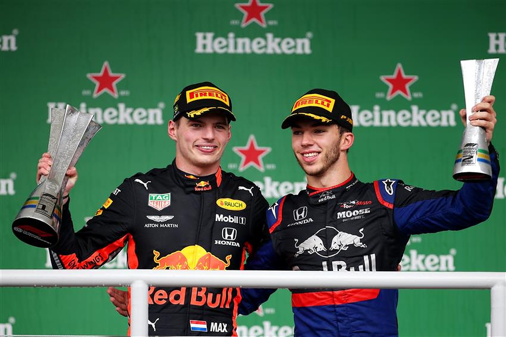 Pierre Gasly and Max Verstappen Red Bull 2021 - Formula1News.co.uk