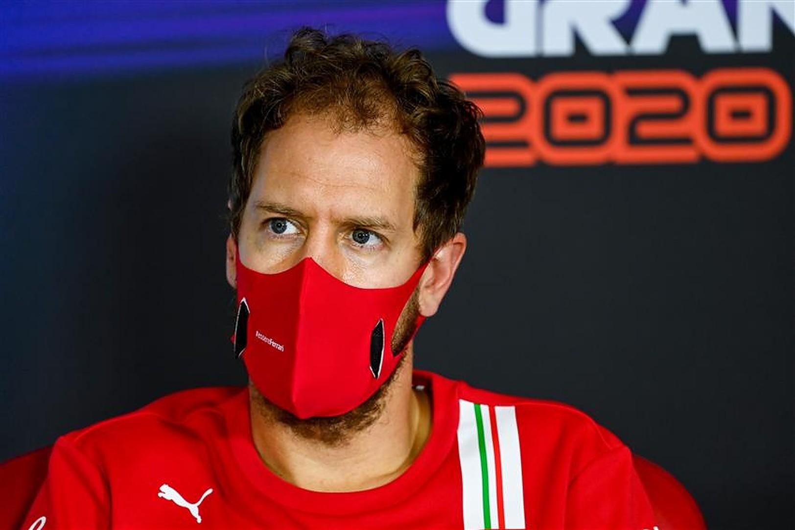 Sebastian Vettel Ferrari interview - Formula1news.co.uk
