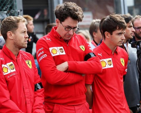 Sebastian Vettel and Mattia Binotto at Ferrari - Formula1News.co.uk