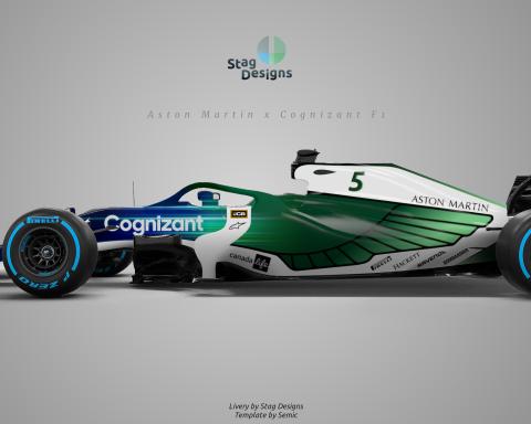 Aston Martin Racing 2021 green F1 Cognizant livery concept - Formula1news.co.uk