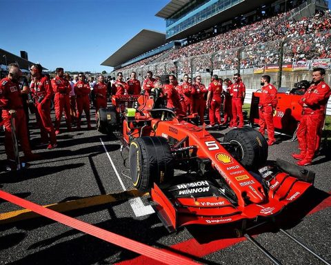 Ferrari Mission Winnow sponsorship at 2019 Japanese GP - Formula1news.co.uk