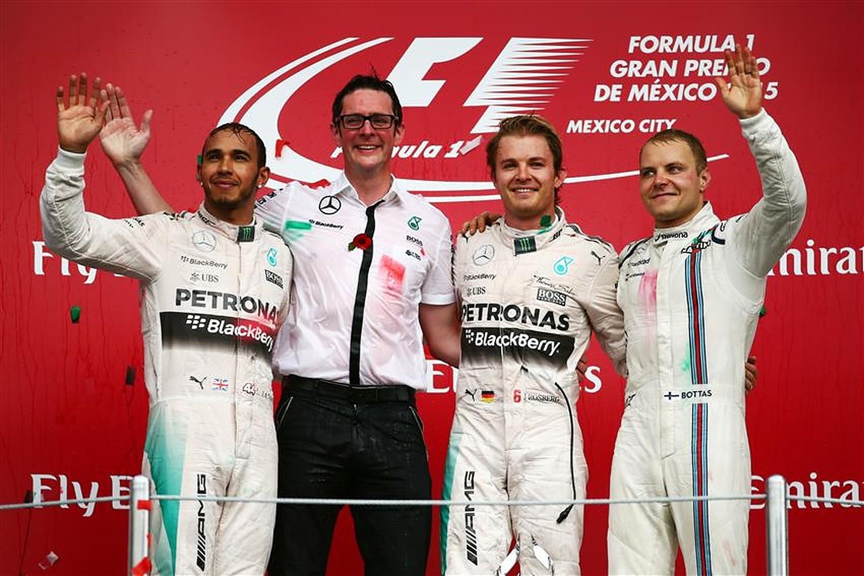 Lewis Hamilton, Nico Rosberg and Valtteri Bottas - Formula1news.co.uk