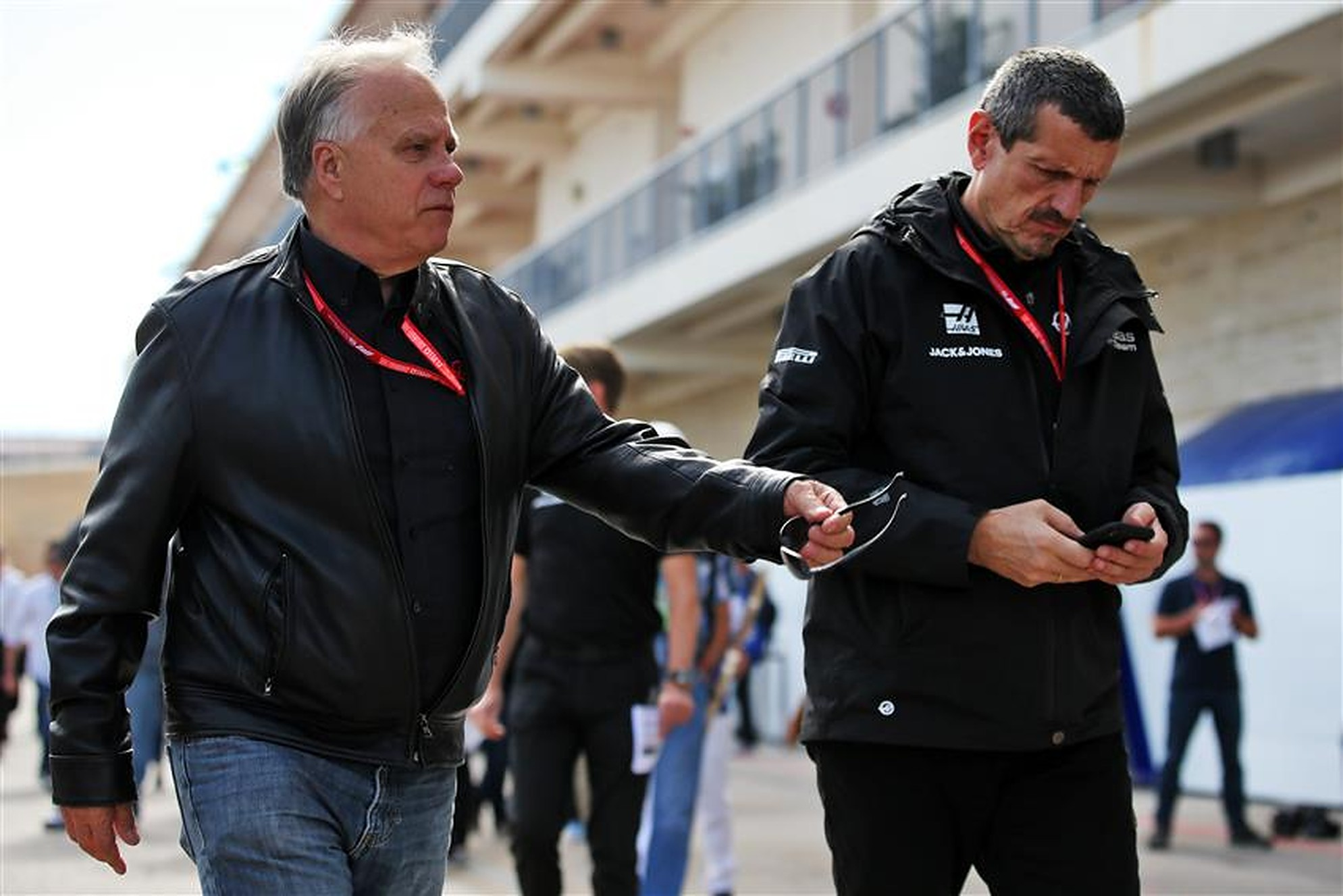 Gene Haas and Guenther Steiner - Formula1news.co.uk