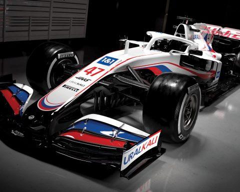 2021 Haas F1 Car 2