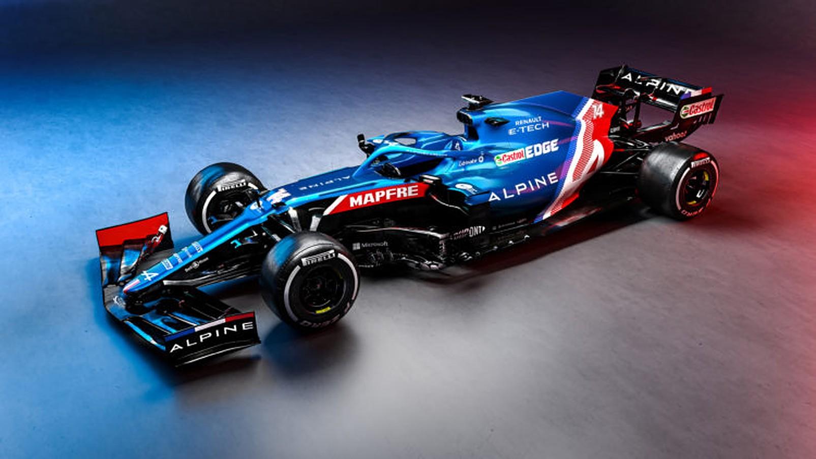 Alpine's 2021 Car