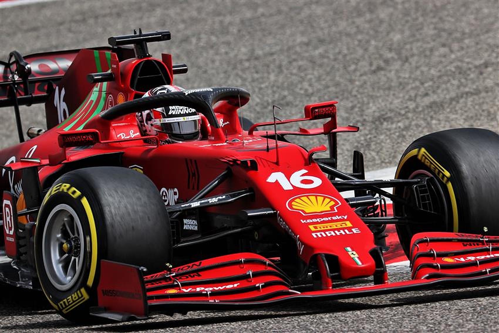 Charles Leclerc (MON) Ferrari SF-21. Formula One Testing, Friday 12th March 2021. Sakhir, Bahrain..v1