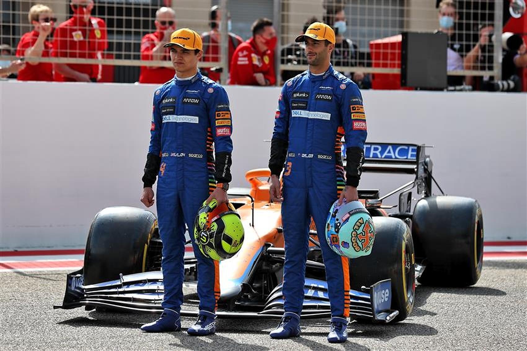 Daniel Ricciardo and Lando Norris at McLaren - Formula1news.co.uk