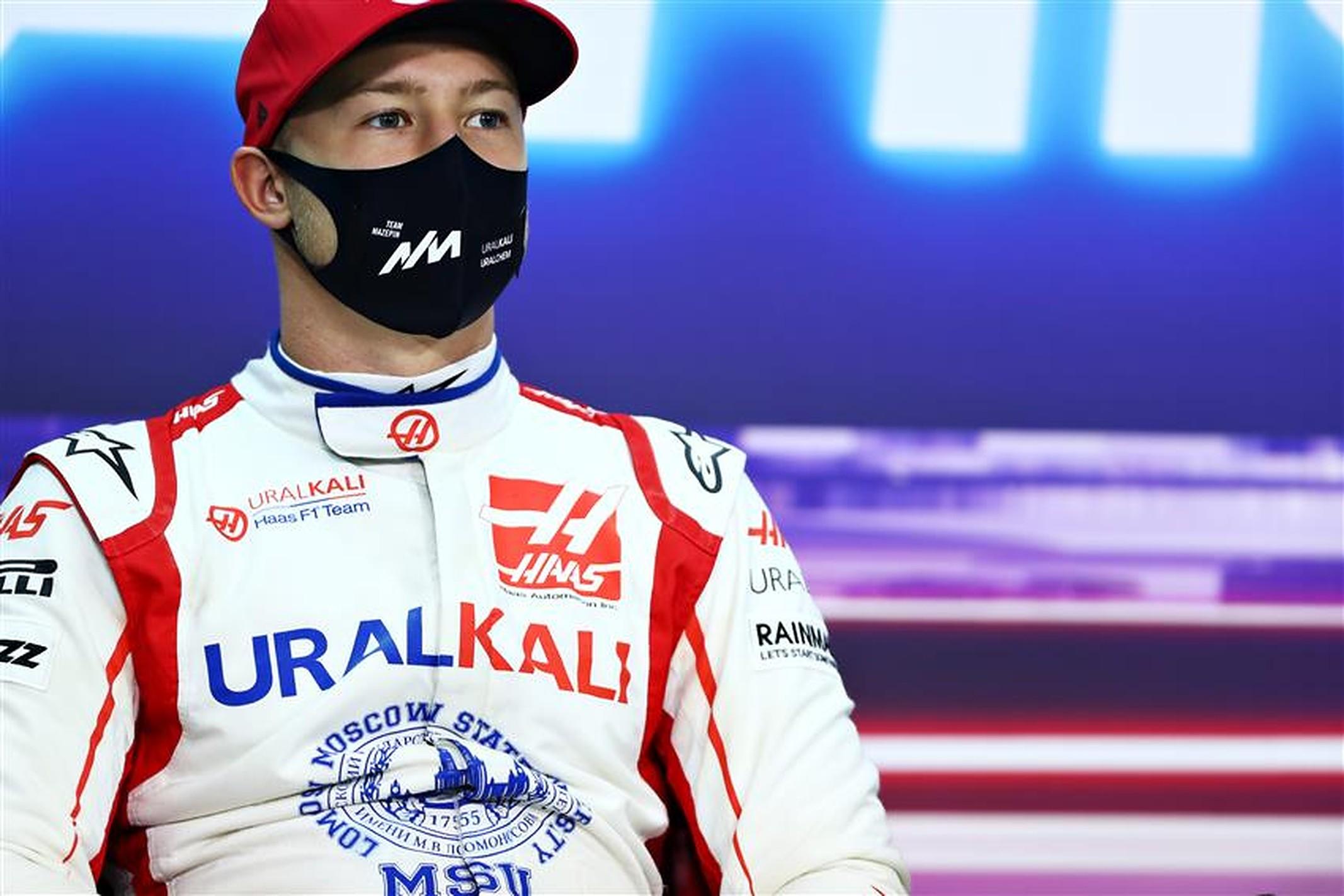 Nikita Mazepin with Haas F1 in 2021 - Formula1News.co.uk