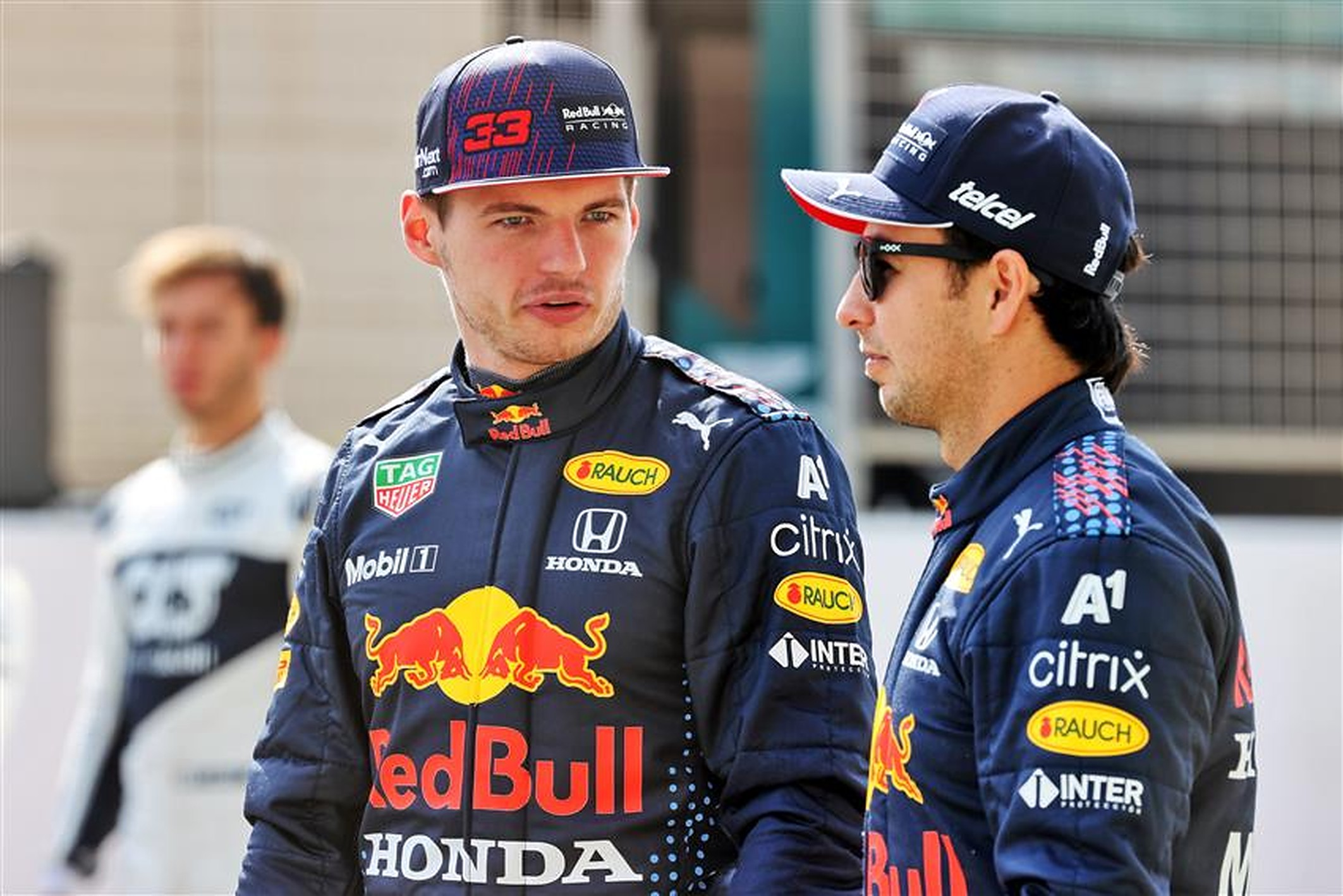 Sergio Perez and Max Verstappen at Red Bull - Formula1news.co.uk