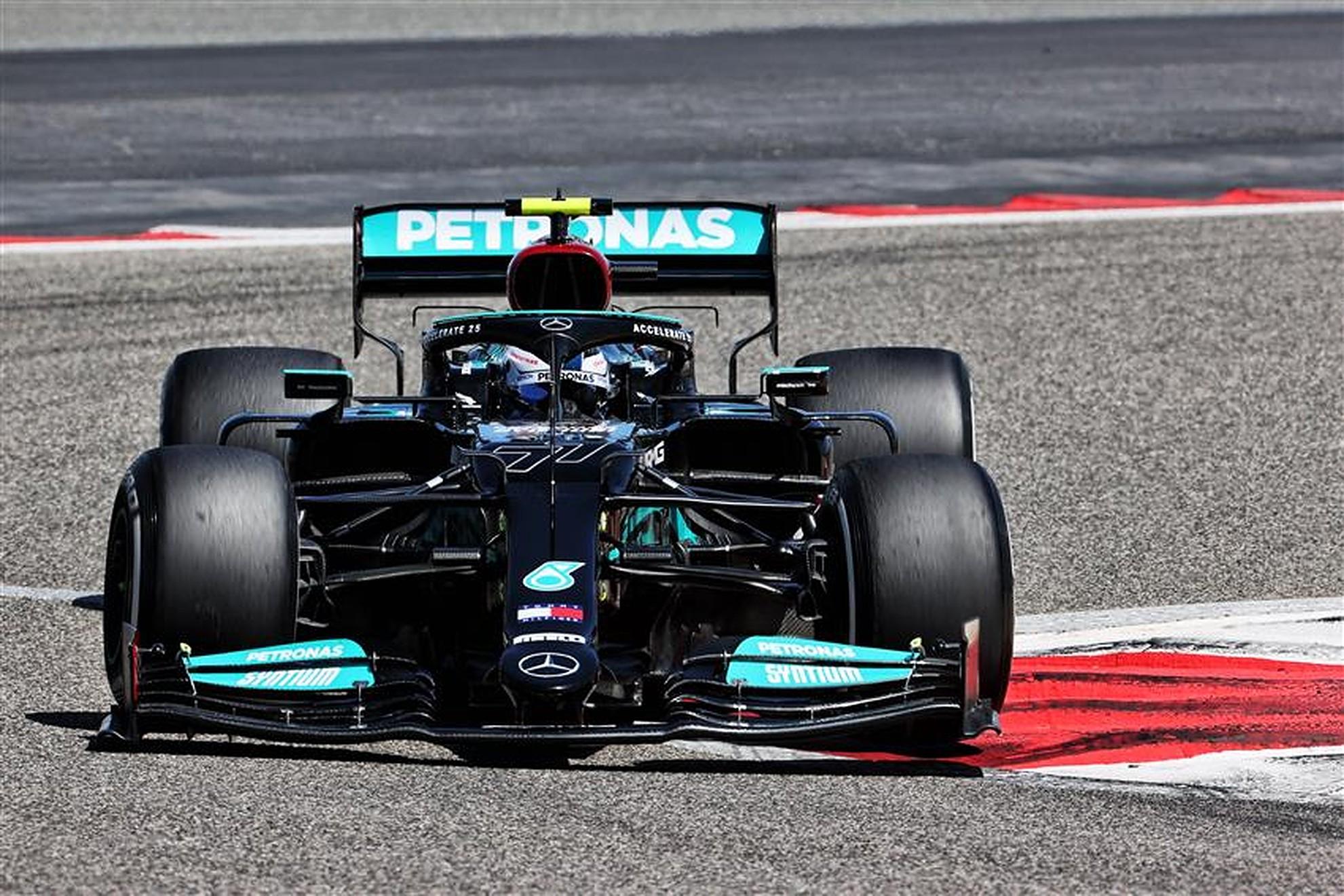 Valtteri Bottas Mercedes W12 in Bahrain - Formula1news.co.uk