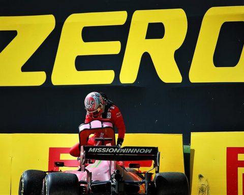 Charles Leclerc climbs out of crashed Ferrari at Imola 2021 - Formula1news.co.uk