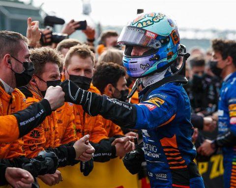 Daniel Ricciardo and Lando Norris at Imola - Formula1news.co.uk