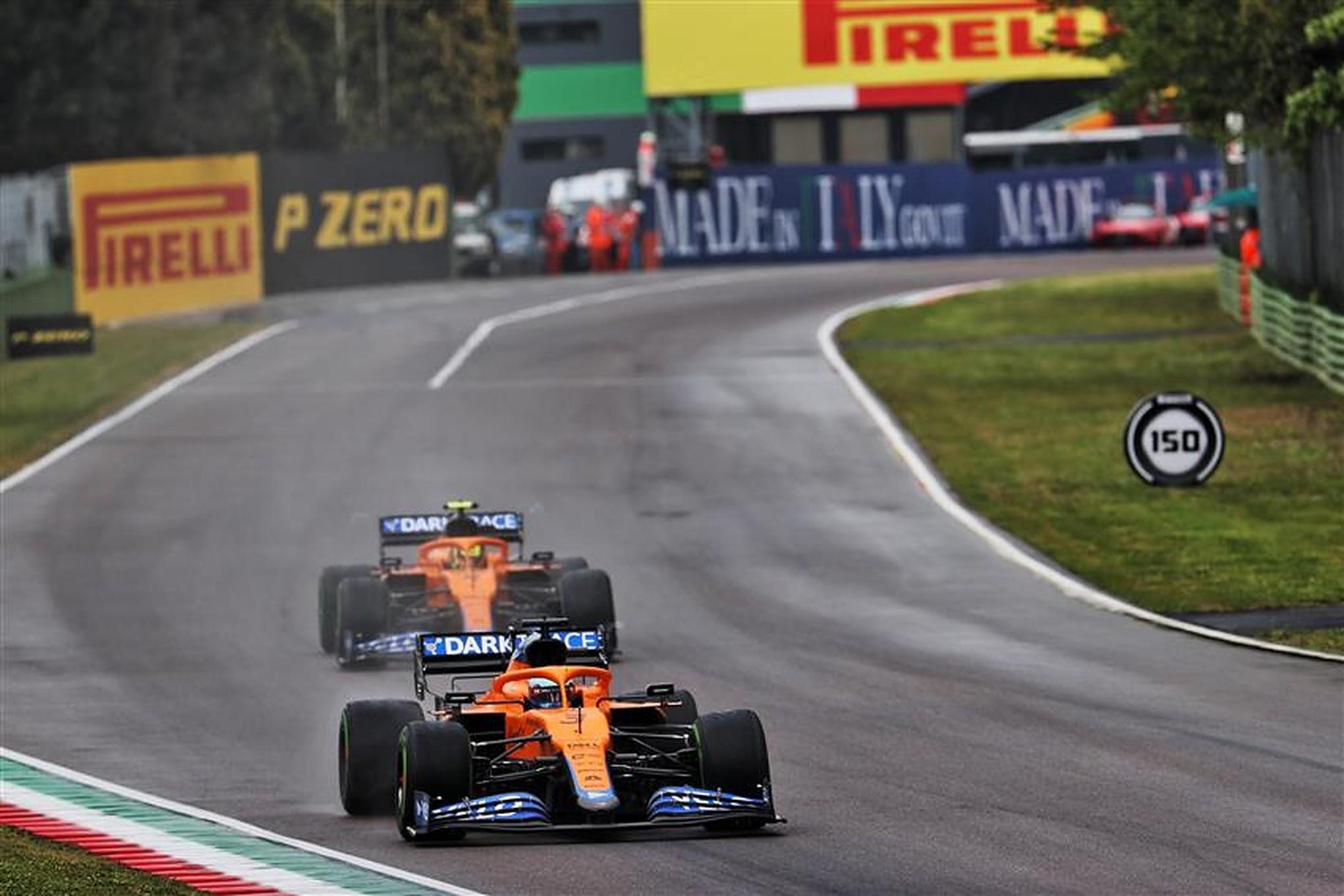 Daniel Ricciardo and Lando Norris team orders at Imola - Formula1News.co.uk
