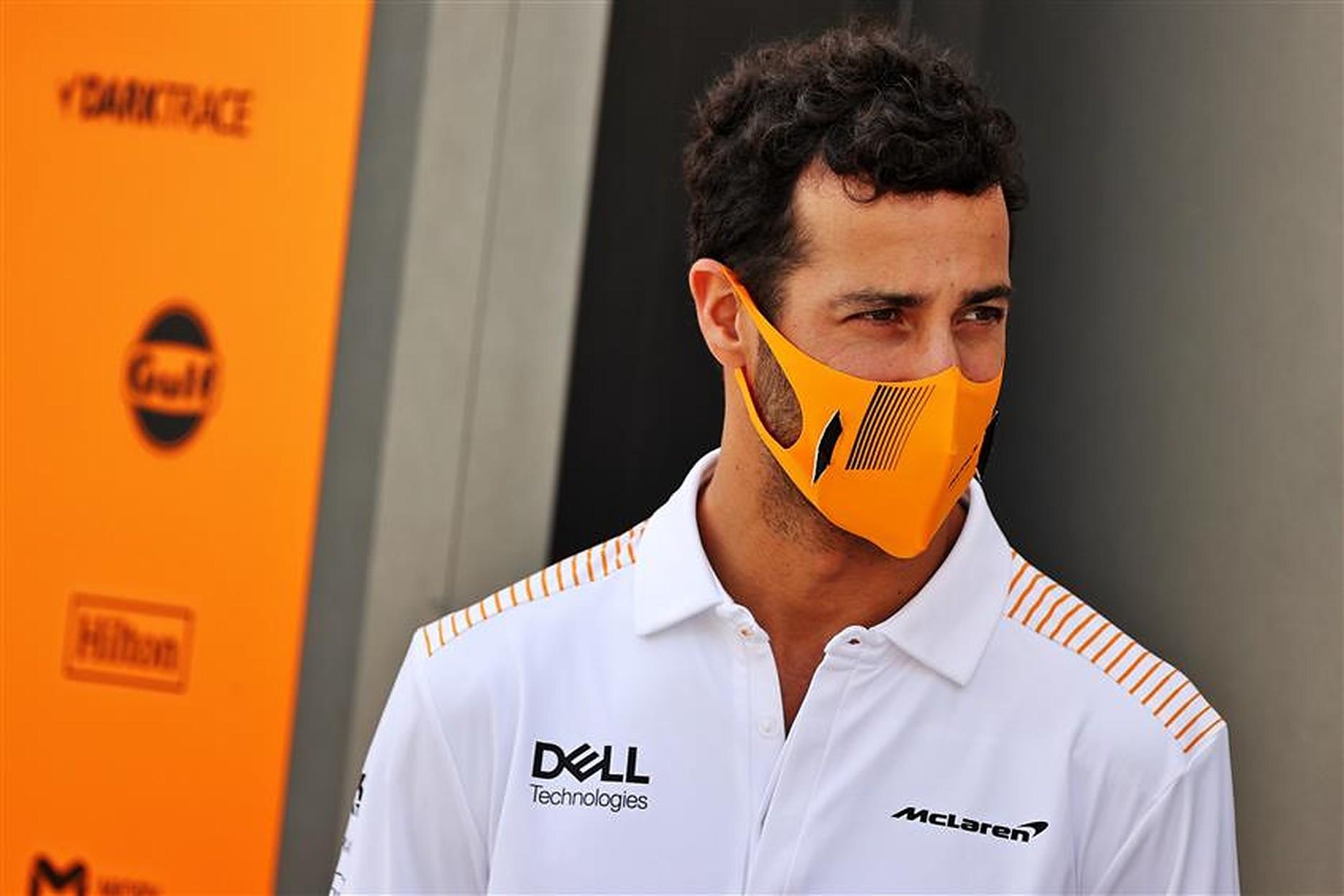 Daniel Ricciardo with McLaren F1 Team - Formula1news.co.uk