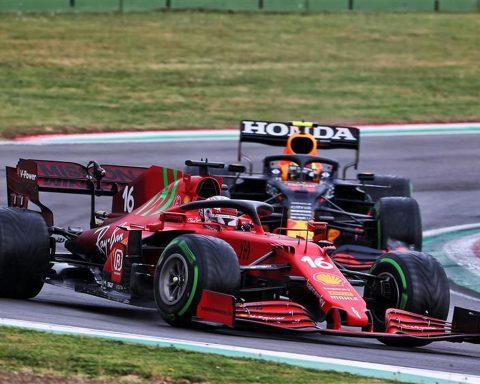 Ferrari driver Charles Leclerc at Imola - Formula1news.co.uk