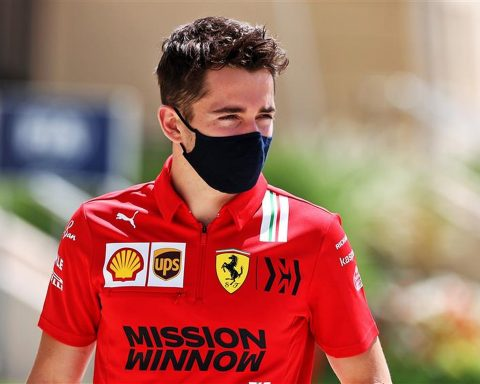 Ferrari driver Charles Leclerc in 2021 - Formula1news.co.uk