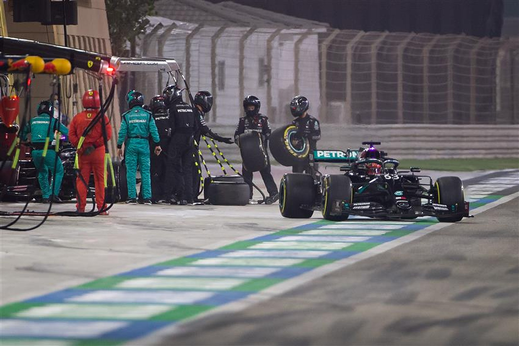 George Russell at the 2020 Sakhir Grand Prix - Formula1news.co.uk