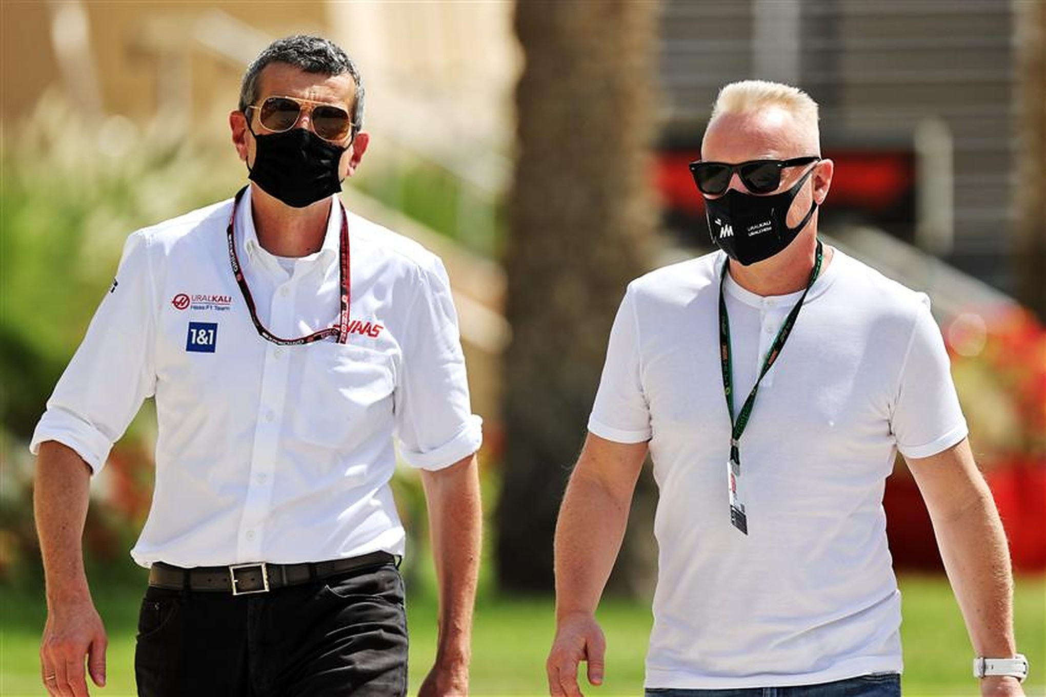 Guenther Steiner and Dmitry Mazepin at Haas F1 - Formula1news.co.uk