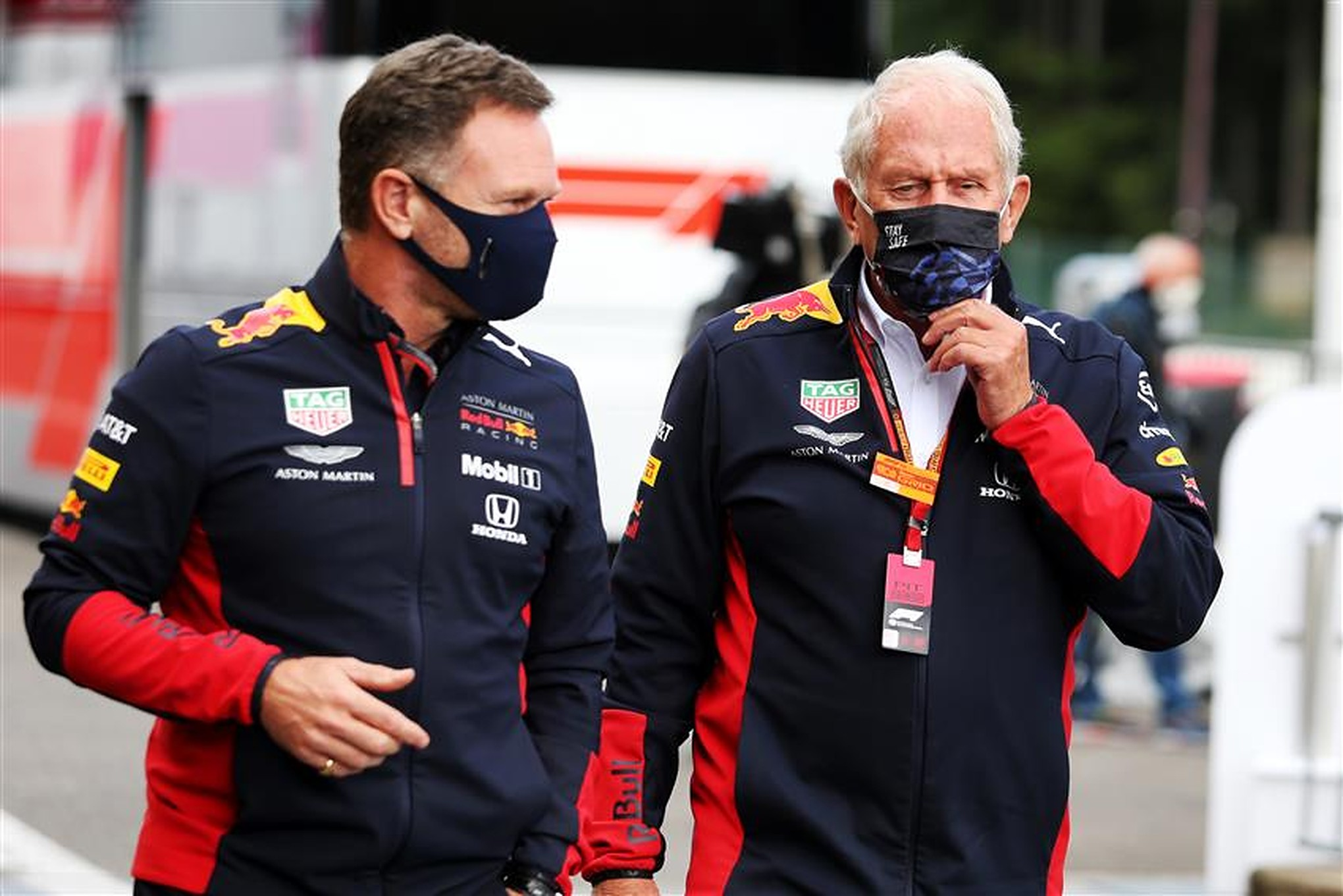 Helmut Marko and Christian Horner - Formula1news.co.uk
