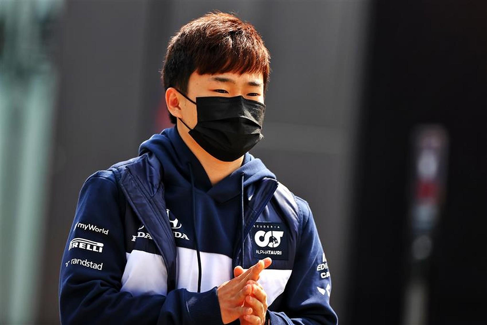 Japanese F1 rookie Yuki Tsunoda at Imola - Formula1news.co.uk