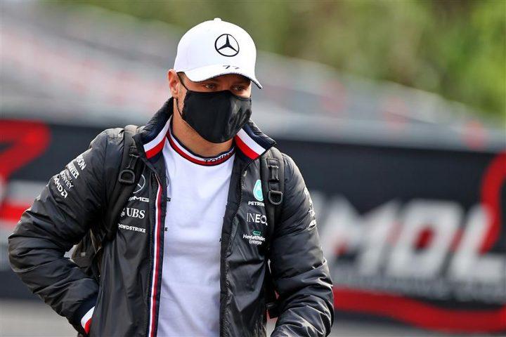 Mercedes driver Valtteri Bottas at Imola in 2021 - Formula1news.co.uk