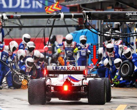 Nikita Mazepin's Haas at Imola - Formula1news.co.uk
