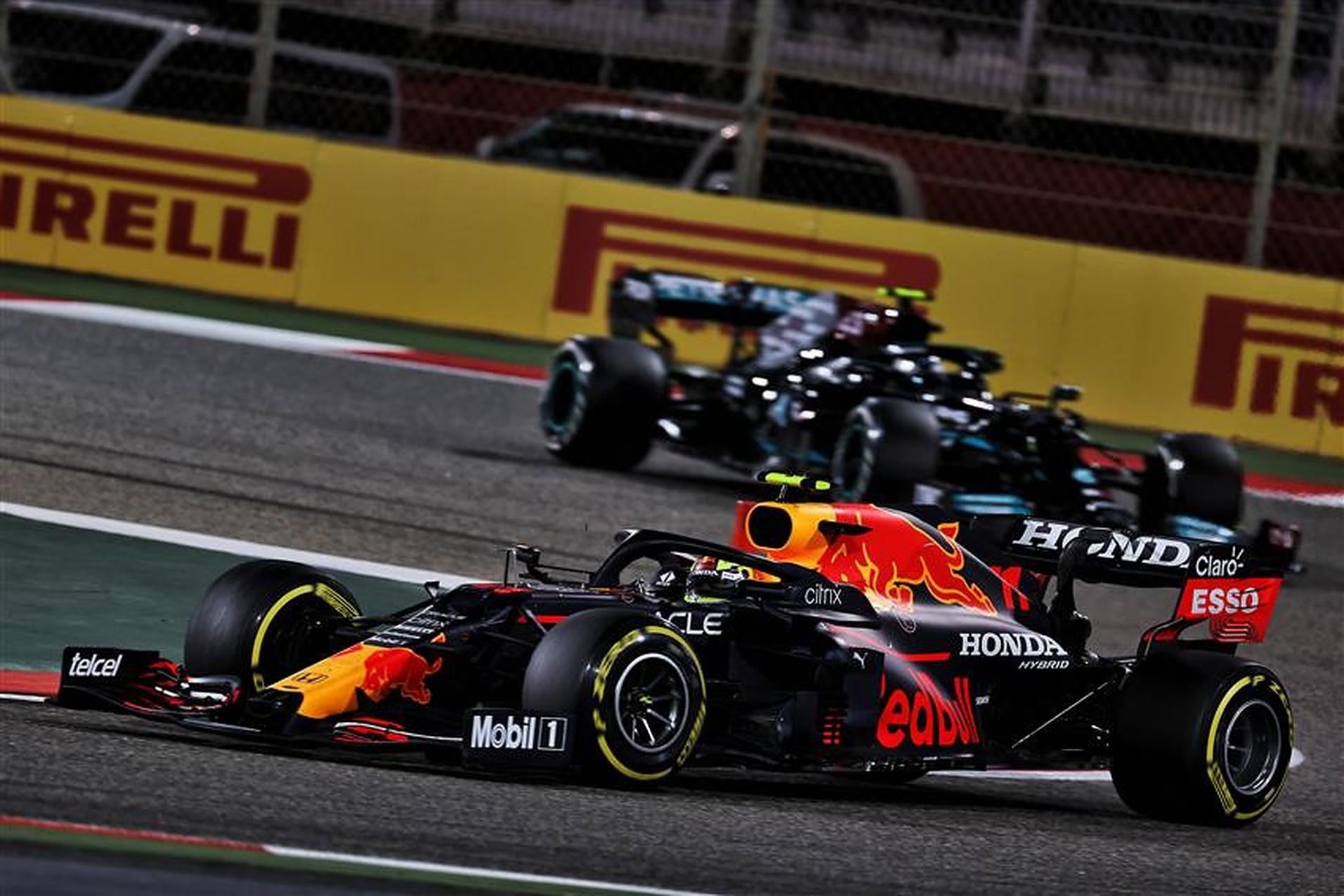 Sergio Perez at 2021 Bahrain GP - Formula1news.co.uk