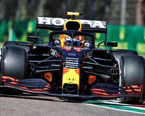 Sergio Perez's Red Bull at Imola - Formula1news.co.uk