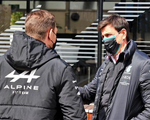 Toto Wolff at Imola in 2021 - Formula1news.co.uk